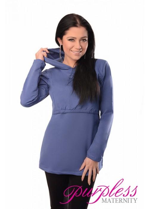 Nursing Hoodie 9051 Blue Jeans