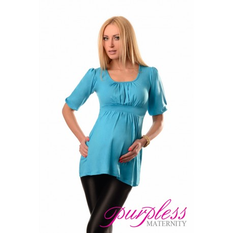 Tunic Scoop Neck 5006 Sky Blue