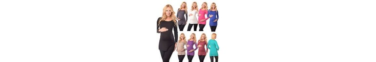 7021 Scoop Neck Tunic Breastfeeding