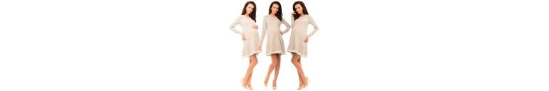 6218 Asymmetric Pregnancy Tunic