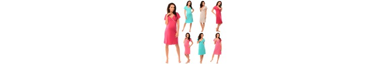 1055n Maternity & Nursing Nightdress